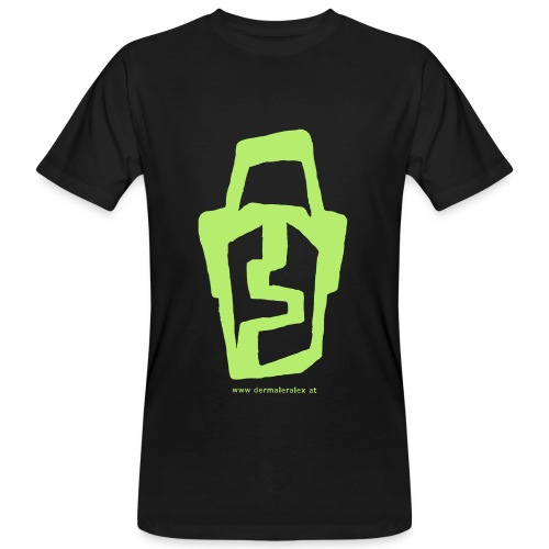 Kopf 2 - Männer Bio-T-Shirt