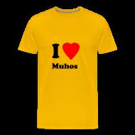 T-paidat ~ Miesten premium t-paita ~ Muhospaita