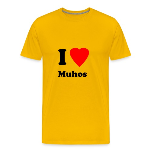 Muhospaita - Miesten premium t-paita