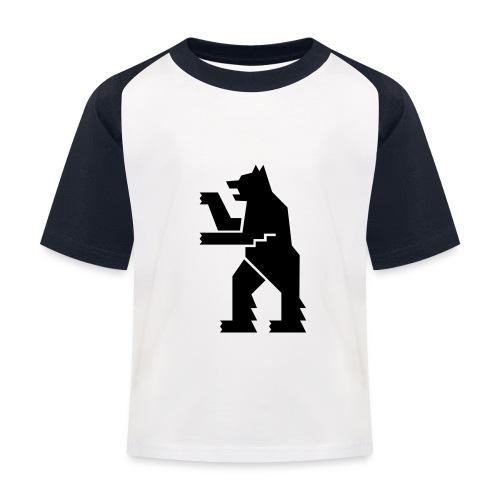 Lasten pesäpallo  -t-paita - Baseball- tyylinen, retrohenkinen lasten t-paita.
