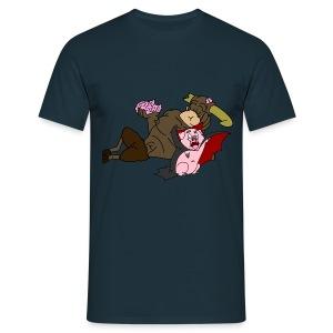 Hampire and Zombeef - Men's T-Shirt