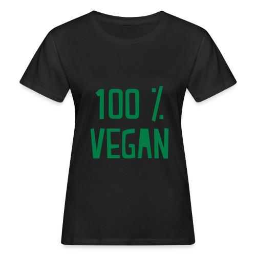 vegan  - T-shirt bio Femme
