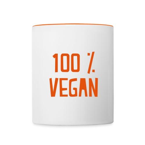 Vegan mug - Mug contrasté