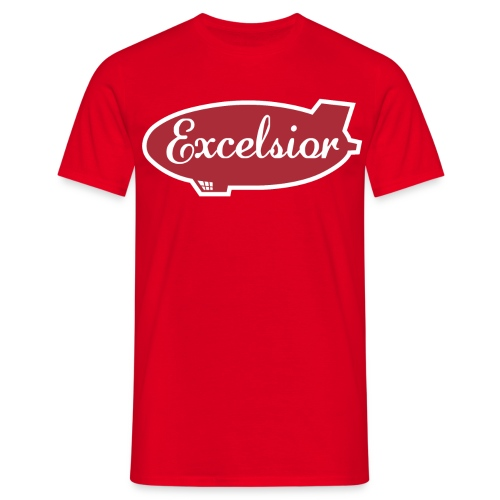 Excelsior airships (Archer) - Men's T-Shirt