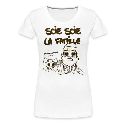 Tee Babor Bucheron - T-shirt Premium Femme