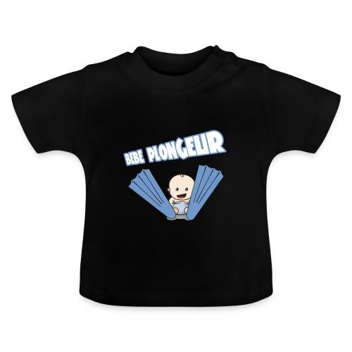 BB Plongeur ! Garçon Noir - T-shirt Bébé