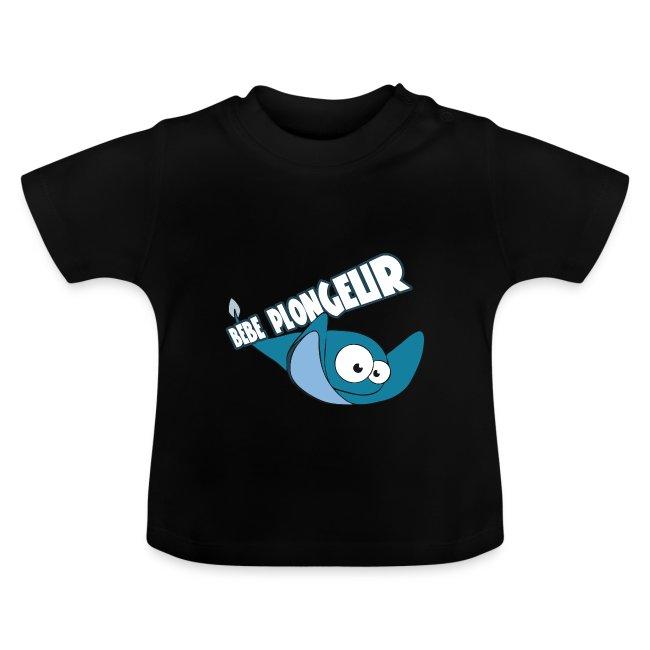 T-shirt Ray Noir