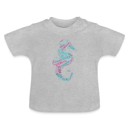 T-shirt Hippotag Gris - T-shirt Bébé