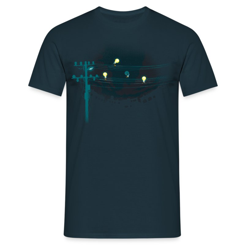 ThreeLightin'Birds - T-shirt Homme