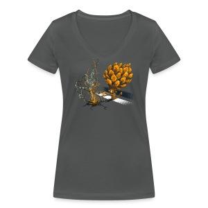 ForestMaster - T-shirt bio col V Stanley & Stella Femme
