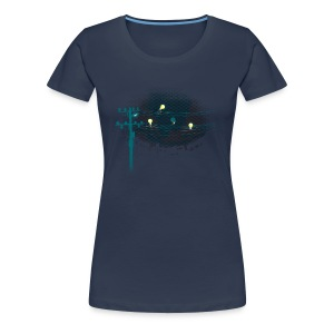 ThreeLightin'Birds - T-shirt Premium Femme