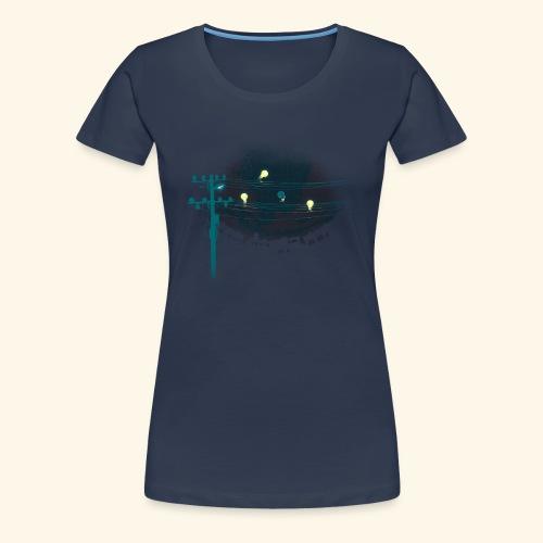 ThreeLightin'Birds - T-shirt Premium Femme