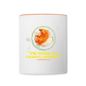 Crumble Mug with rim colour - Contrasting Mug