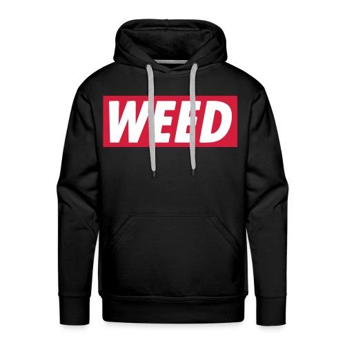 weed hoody - Herre Premium hættetrøje