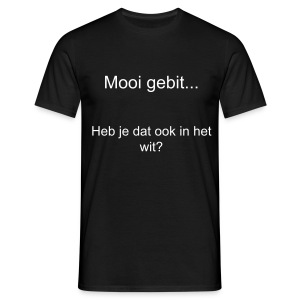 Wit gebit - Mannen T-shirt