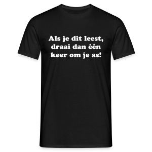 as - Mannen T-shirt