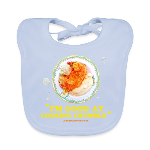 Crumble Baby Bib - Baby Organic Bib