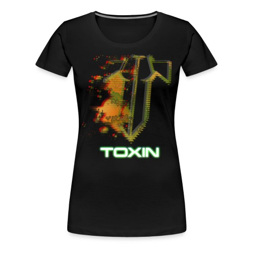 Offizielles TOXIN-Shirt Damen schwarz - Frauen Premium T-Shirt