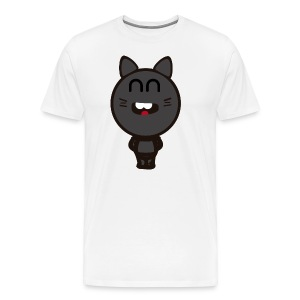 Camiseta Happy Cat - Camiseta premium hombre