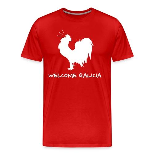 Camiseta Galo Welcome Galicia - Camiseta premium hombre
