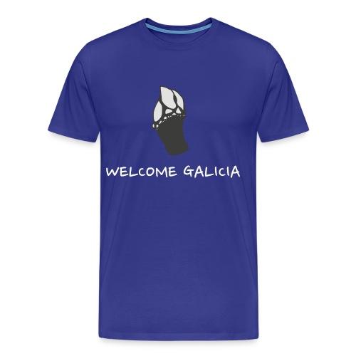 Camiseta Percebe Welcome Galicia - Camiseta premium hombre