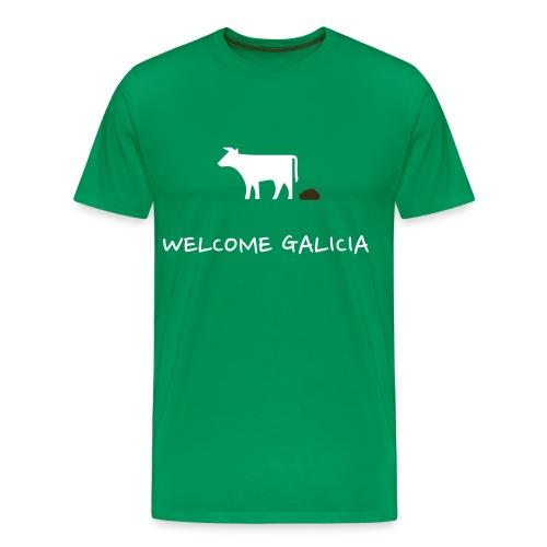 Camiseta Bosta Welcome Galicia - Camiseta premium hombre