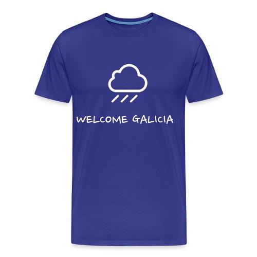 Camiseta Chove Welcome Galicia - Camiseta premium hombre