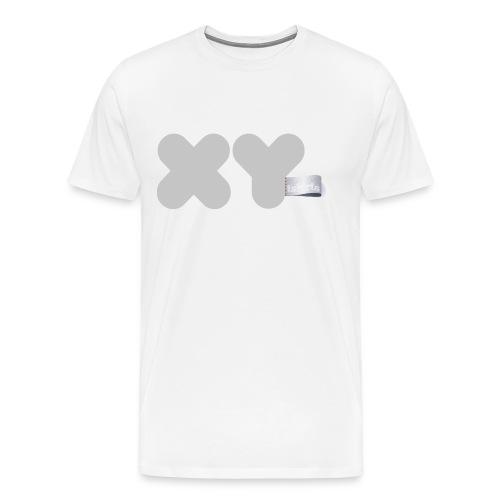 Camiseta XY Gray - Camiseta premium hombre
