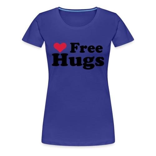 Free Hugs - Dame premium T-shirt