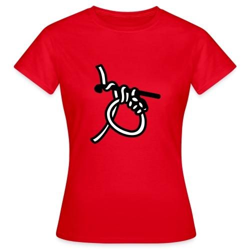 Tasche Häkeln - Frauen T-Shirt