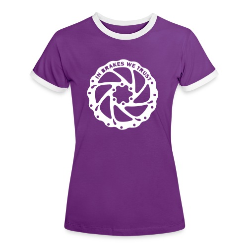 Braketruster - Frauen Kontrast-T-Shirt