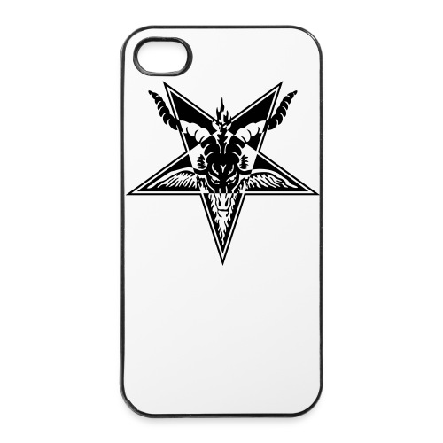 Baphomet w/b - iPhone 4/4s hard case