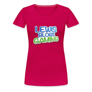 Lewis Blogs Gaming T-Shirt! - Women's Premium T-Shirt