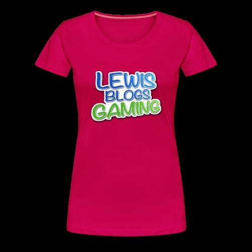 Lewis Blogs Gaming T-Shirt! - Women's Premium T-Shirt