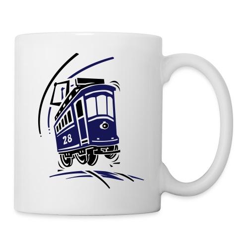Tasse Bimmel die Straßenbahn - Tasse