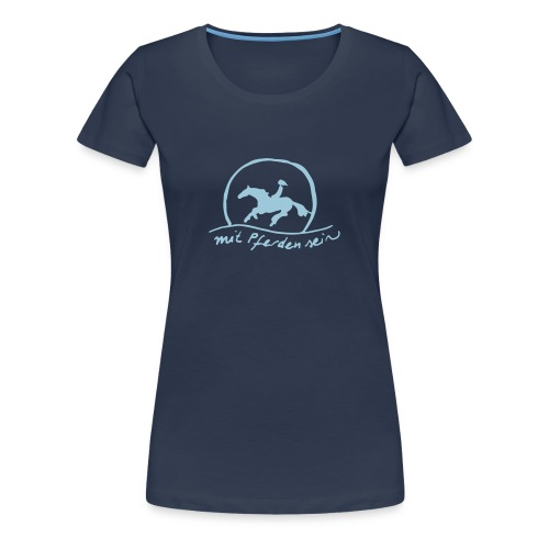 MPS Sunset Rider - Blue in Blue  - Frauen Premium T-Shirt