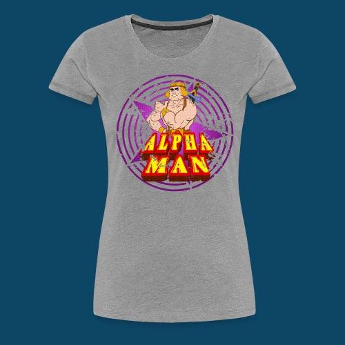 Alpha Boobs - T-shirt Premium Femme