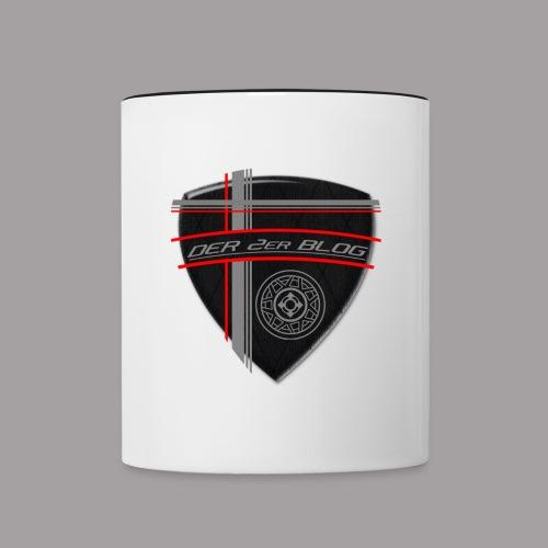 dIIb  Logo- zweifarbige Tasse - Tasse zweifarbig