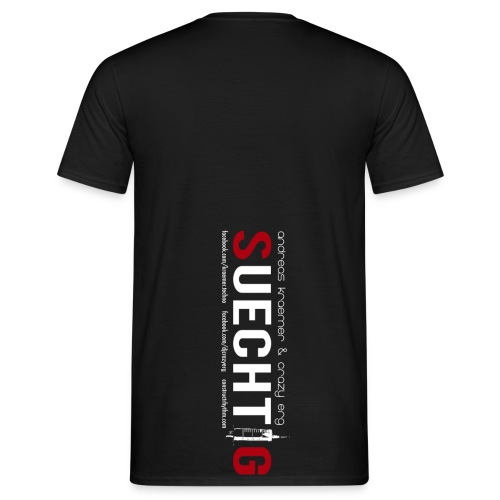 KRAEMER & ERG SUECHTIG Album collection - Men's T-Shirt