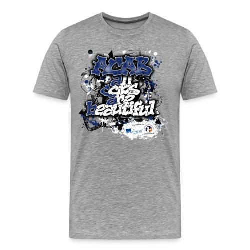 acab Männershirt + 4 € Spende an KGgP e.V. - Männer Premium T-Shirt