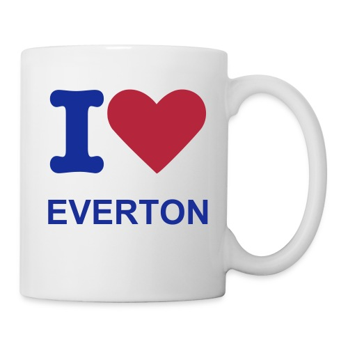 I Love Everton Mug - Mug