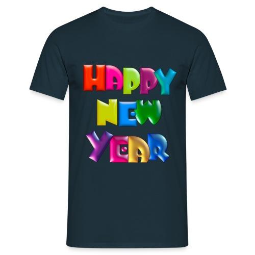 Happy New Year T-Shirt - Men's T-Shirt