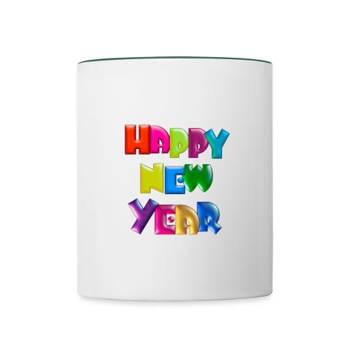 Happy New Year Mug - Contrasting Mug