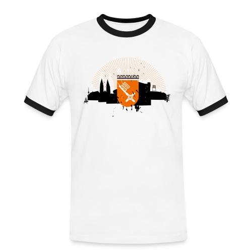 Bremen Silhouette  - Männer Kontrast-T-Shirt