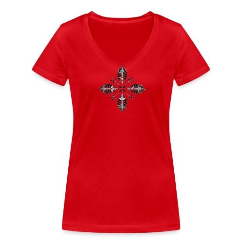 T- skjorte Dame - Økologisk T-skjorte med V-hals for kvinner fra Stanley & Stella