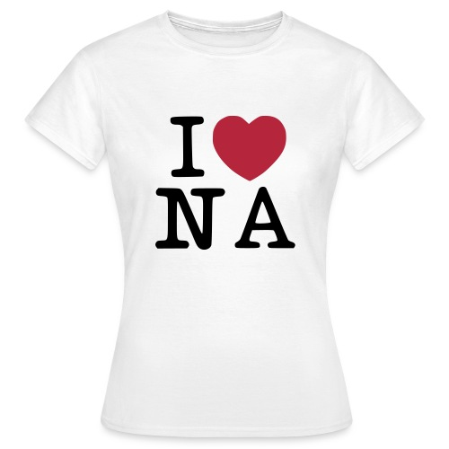 I Love Naples t-shirt Donna - Maglietta da donna