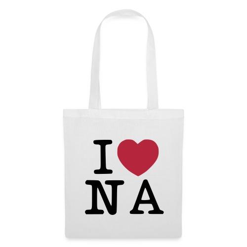 I Love Naples Shopping Bag - Borsa di stoffa