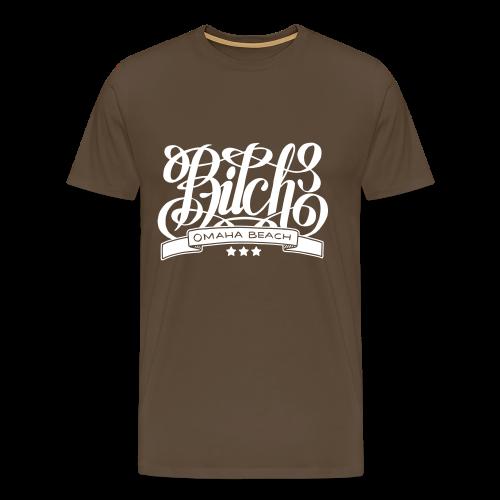 Bitch H - T-shirt Premium Homme