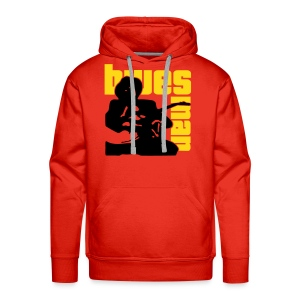 mr bluesman (vector) - Men's Premium Hoodie