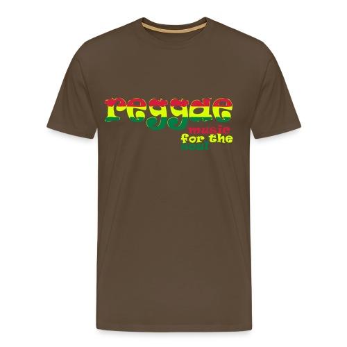 Noble Brown Mens Shirt 'Reggae' - Men's Premium T-Shirt